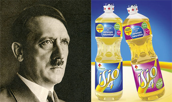 Pro tip: When faced with the choice between naming your dog after Hitler or after a brand of vegetable oil, go for the oil every time. (Hitler Image: Elzbieta Sekowska / Shutterstock.com)