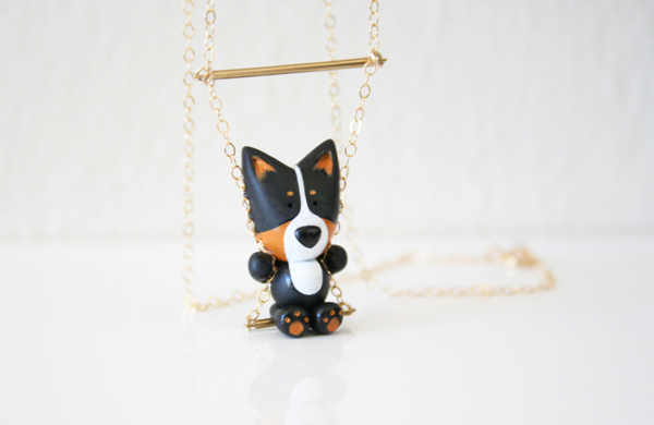 Mocha's Friends Come Alive as Adorable Dog-Themed Jewelry