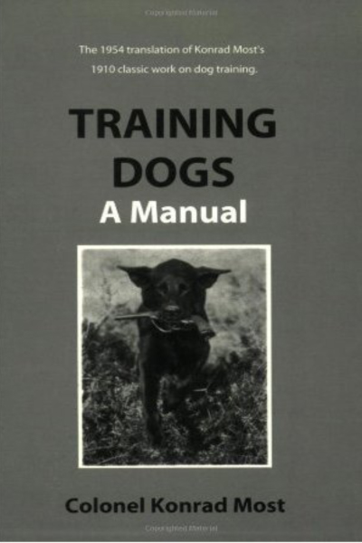 Fetch, I Say! We Blow the Dust Off Vintage Dog Training Books