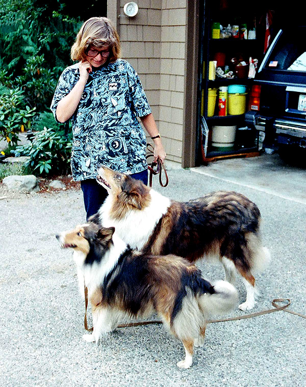 I Wanted Lassie, but I Got Colley Girl, Who Had Deformed Eyes and a Big Heart