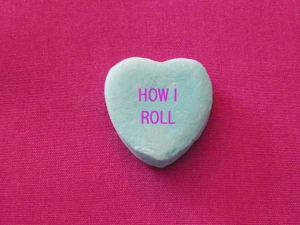 6 Valentine's Day Conversation Hearts from the Dog