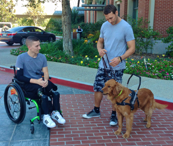 """Lucky Dog"" Star Brandon McMillan Also Trains Service Dogs for Disabled Veterans"