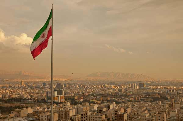 Skyline of Tehran by Shutterstock
