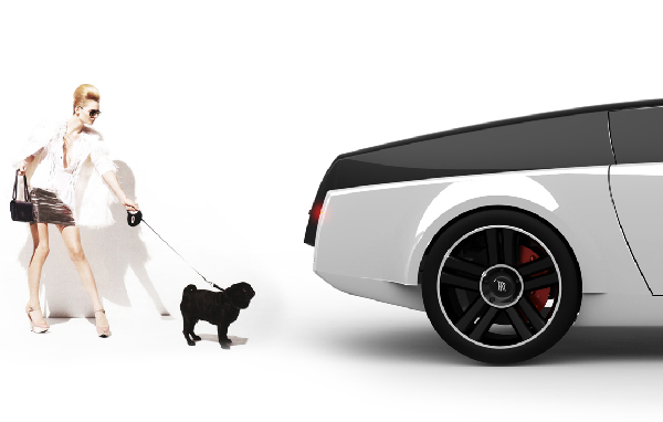 Got Too Much Money? This Dog-Friendly Rolls Royce Is for You