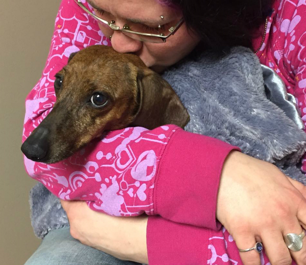 On Change a Pet's Life Day, We Remember Maggie the Puppy Mill Dachshund