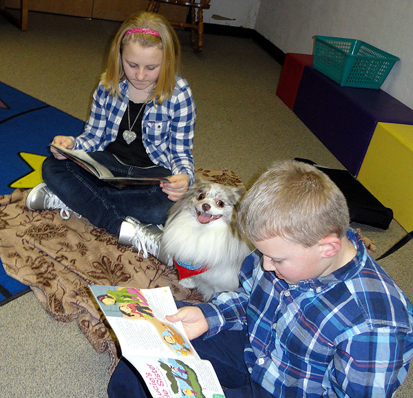 My Pomeranian Helps Kids Learn to Read