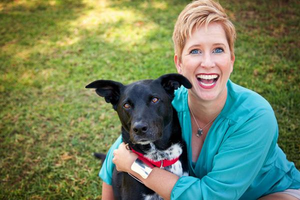 Riggins and me. (Photo by Lori Fusaro of Fusaro Photography)