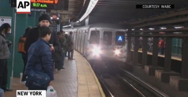 The Blind Man Who Fell Onto New York City Subway Tracks