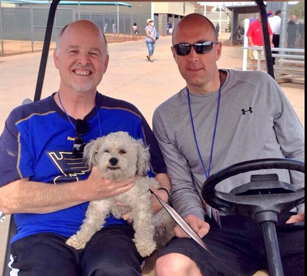 Stray Dog Wanders onto the Milwaukee Brewers' Field -- and Becomes a Mascot