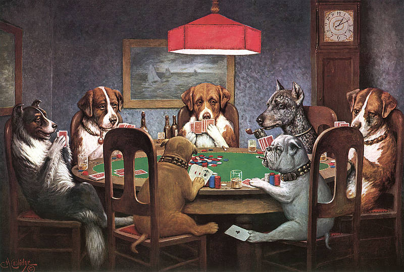 Dogs Playing D&D: a New Twist On an Old Classic