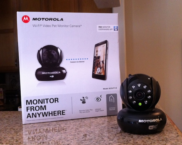 Win a Motorola Wi-Fi Video Pet Monitor Camera