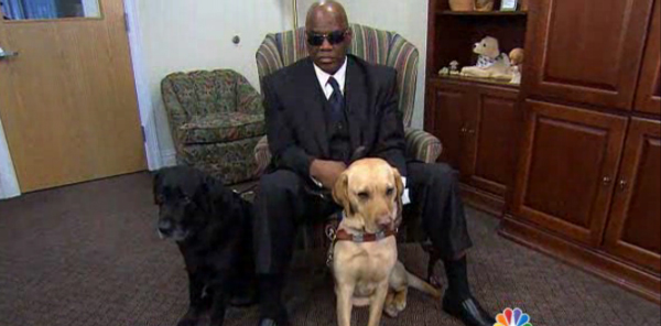 The Blind Man Who Fell onto New York City Subway Tracks Gets a New Guide Dog