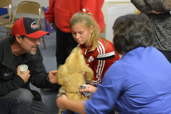 Comfort Dogs Help Students After Marysville School Shooting