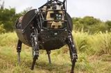 Robot Dog Cujo Goes on Military Training Missions