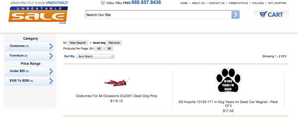 Good Job, Internet: Walmart Pulls Offensive Dead Dog Halloween Prop