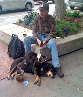 "Meet the ""Dog-Cat-Rat Guy,"" a Modern-Day Folk Hero"