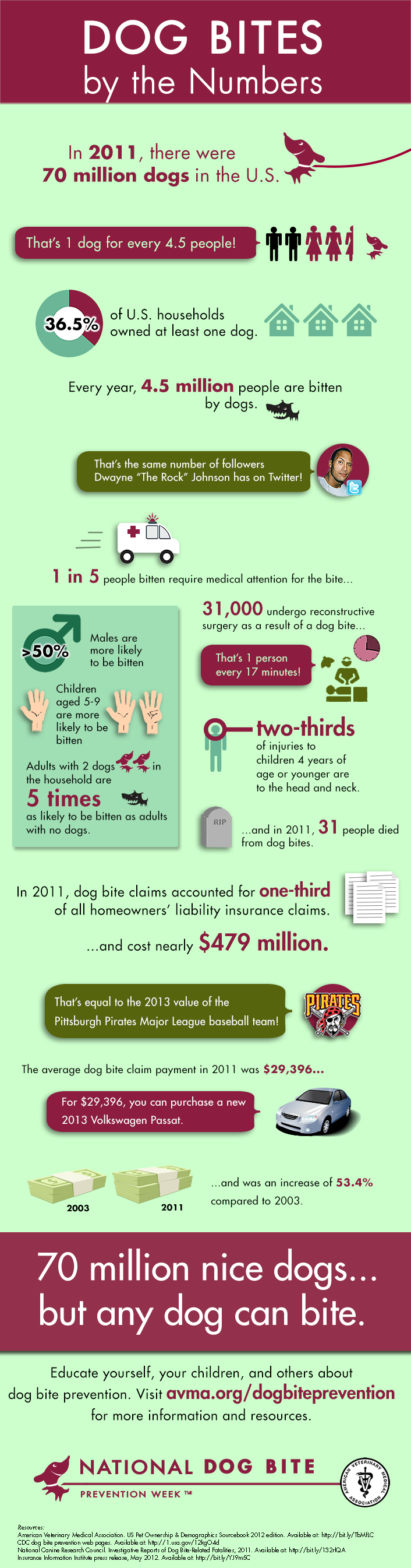 Dog Bites by the Numbers