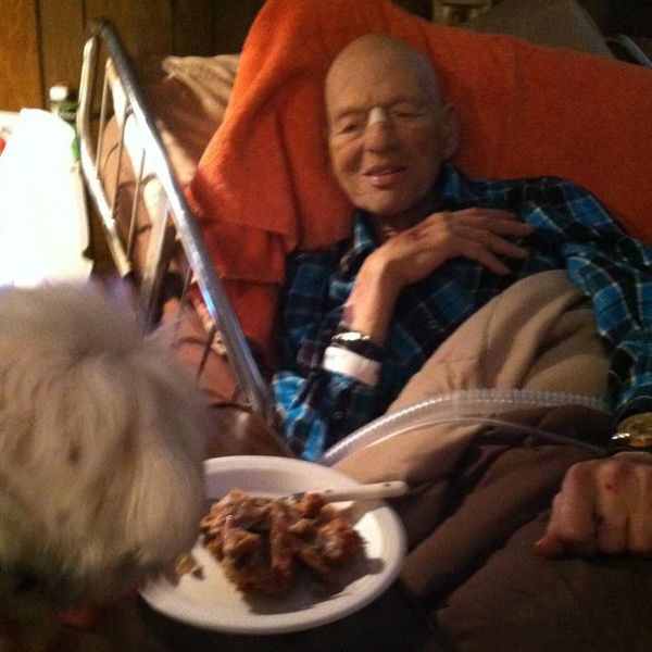 How Dogs Helped Us Through My Grandpa's Final Days