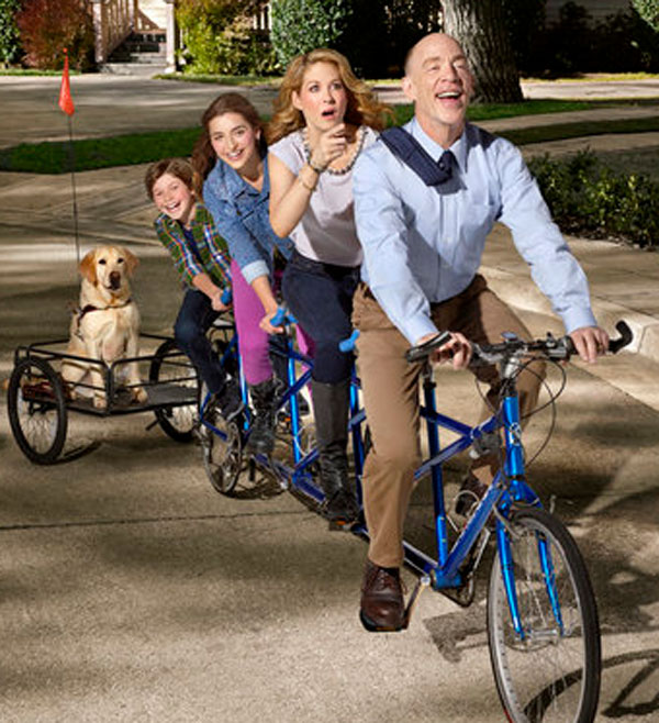 "We Chat with J.K. Simmons and Jenna Elfman, the Stars of ""Growing Up Fisher"""