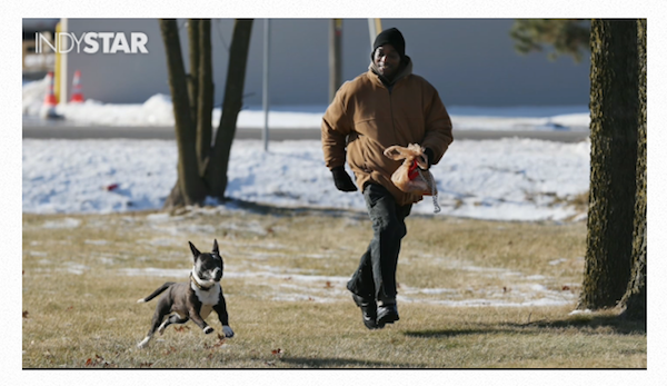 Homelessness Can't Break the Bond Between This Man and His Dog