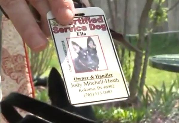 Ella's ID. (Screenshot: Fox59)