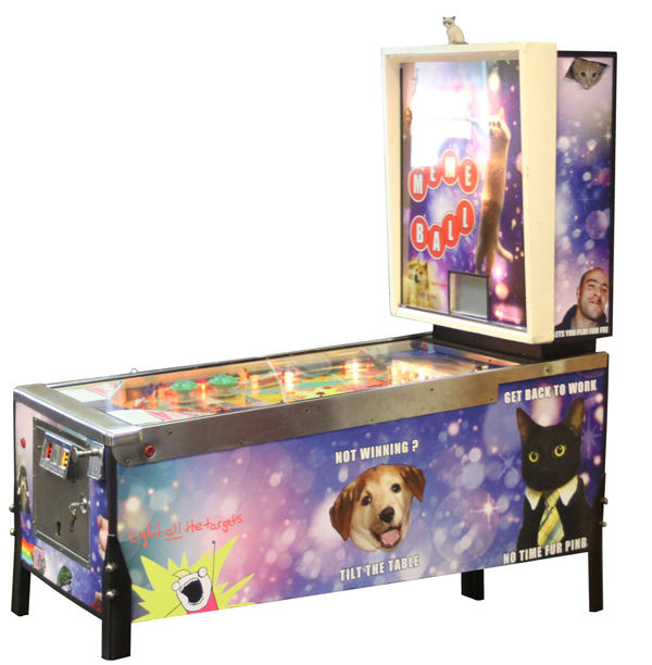 So Much Winning: Doge Stars in a Meme Pinball Game