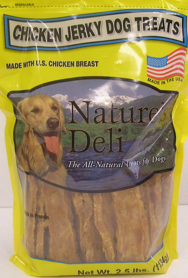 Check Your Claudia's Canine Cuisine and Nature's Deli Items