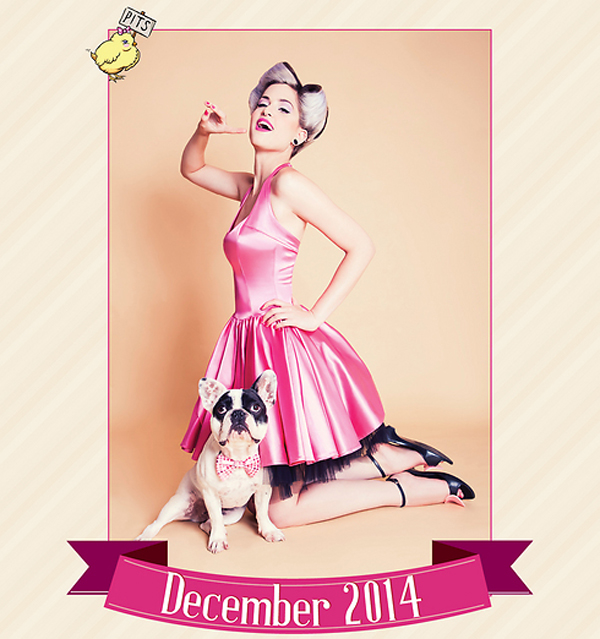 This Israeli Calendar Pairing Pinups with Pit Bulls Is Hot Stuff