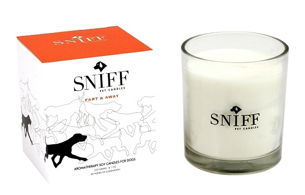 Enter to Win a Fart & Away Aromatherapy Candle from Sniff
