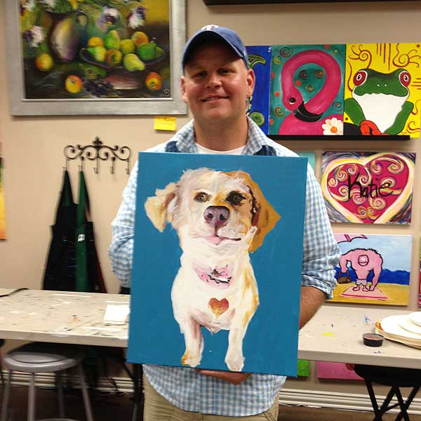 Paint A Portrait Of Your Dog At Painting With A Twist