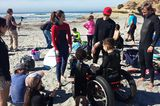 A Teen with Cancer Hits the Waves with Surf Dog Ricochet