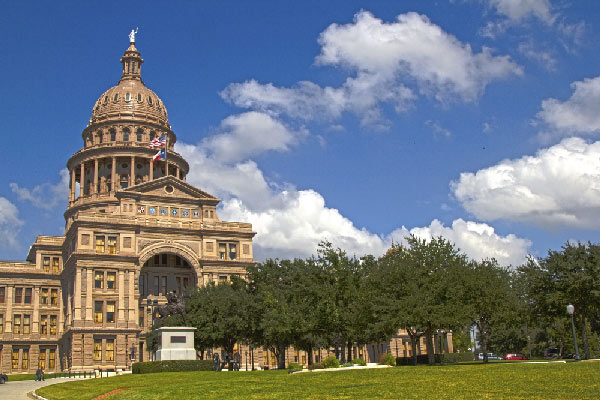 Texas Capitol by Shutterstock.