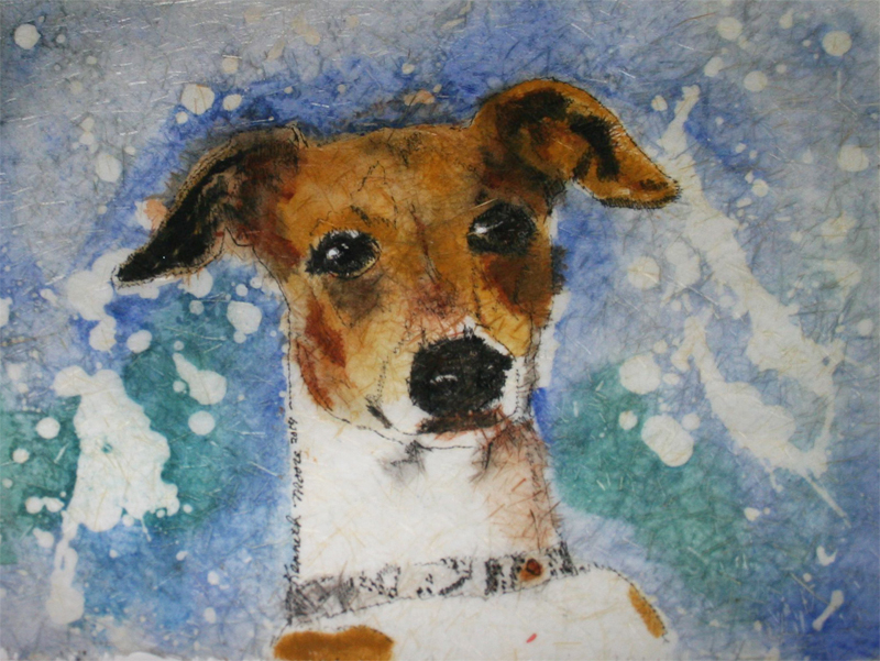 Dogster Obsessions: Kenneth Moore's Batik Paintings of Dogs