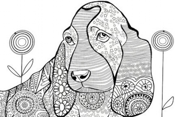 10 Coloring Books For Dog Lovers