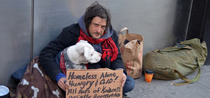 whether government should provide homeless people Whether it be for soup kitchens or walk-in clinics, the government should take some sort of responsibility for the homeless people on our streets there are numerous non-profit organizations that provide food for the homeless.
