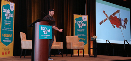 Gus Kenworthy at BarkWorld