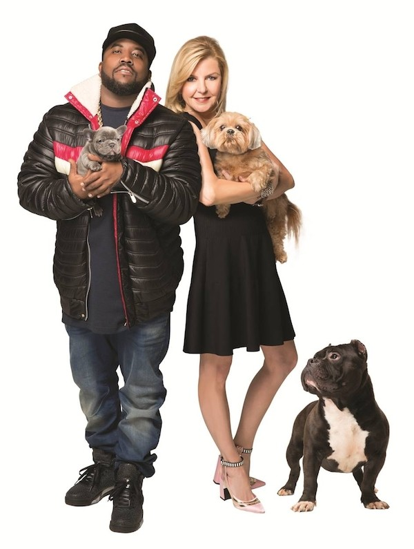 Big Boi and Bobbi Panter with their pets. (Photo courtesy Bobbi Panter)