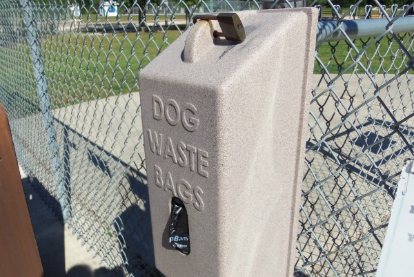 "Dog waste bags are there for a reason. Don't be a ""Poop Ignorer."" (Kara Martinez Bachman photo)"