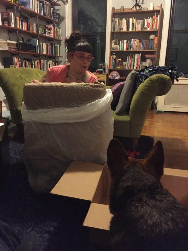 unpacking the Big Barker!
