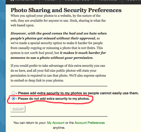 Step 3: Enable Photo Sharing