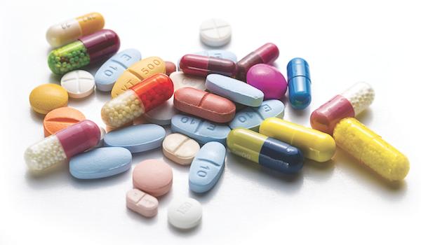 Pills via Shutterstock.