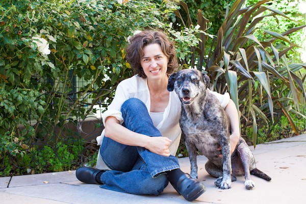 Dr. Scarlett with her dog, Huri. (Photo courtesy SF SPCA)