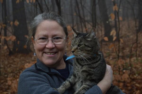 Dr. Wendy Jensen and her cat, Jowy. (Photo courtesy Wendy Jensen)