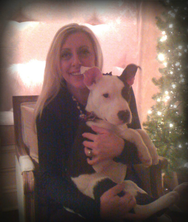 Lori and Oliver shortly after his adoption in 2010. (Photo courtesy Lori McDermid)