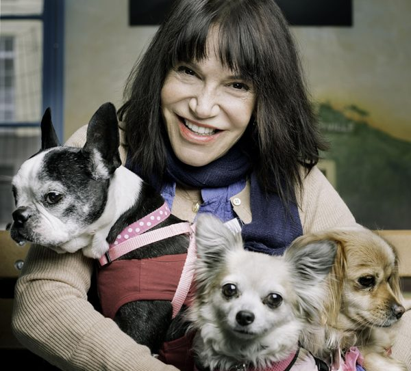 Sherri Franklin, champion for senior pups everywhere.