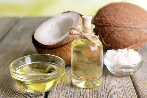 Coconut oil by Shutterstock.