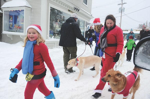 Pooch Parage in Kennebunkport, Maine. (Photo by Robert Dennis)