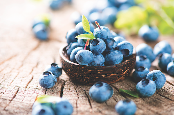 Blueberries by Shutterstock.