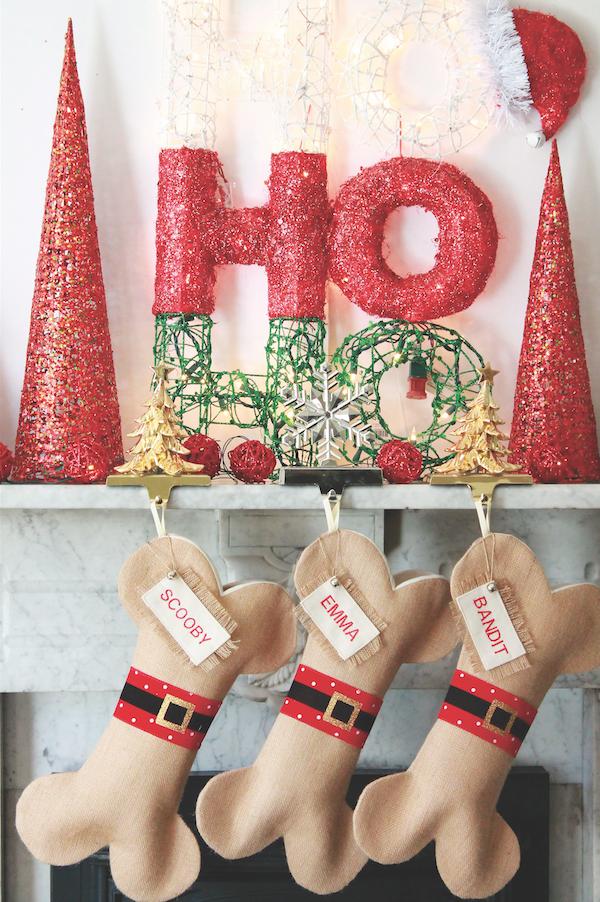 dog stocking 2 - Dog Stockings For Christmas