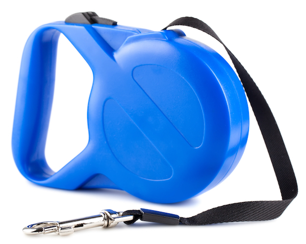 Retractable leash by Shutterstock.